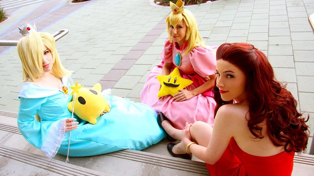 Super Mario Sisters by Katsumiyo