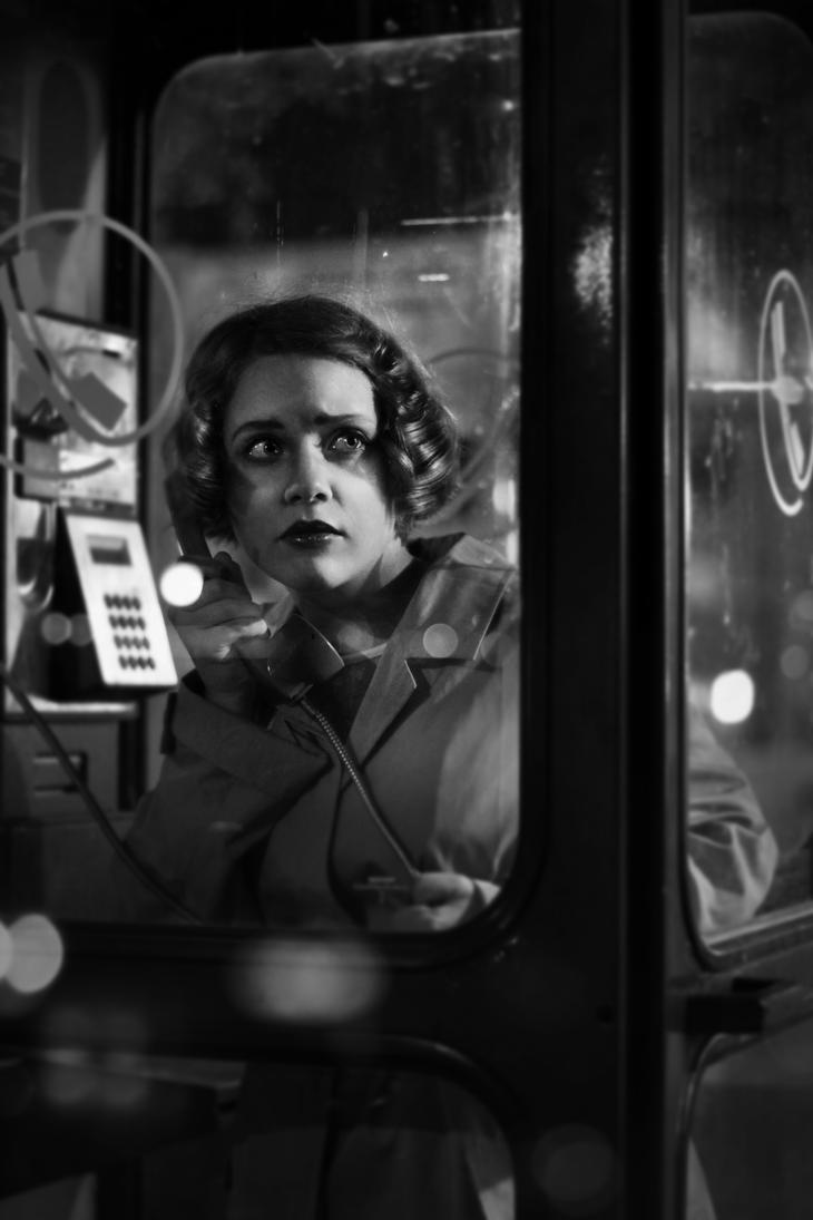 Film Noir - part 3 - The Phone Call by narcissagrey