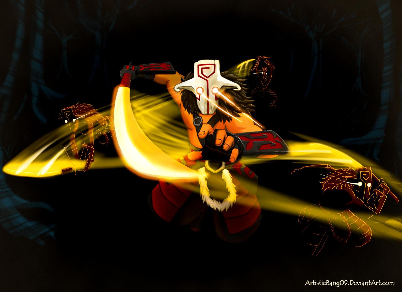 Dota 2  Juggernaut OMNISLASHING by ArtisticBang09Juggernaut Dota 2