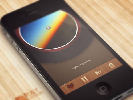 [UI] music FM app design.