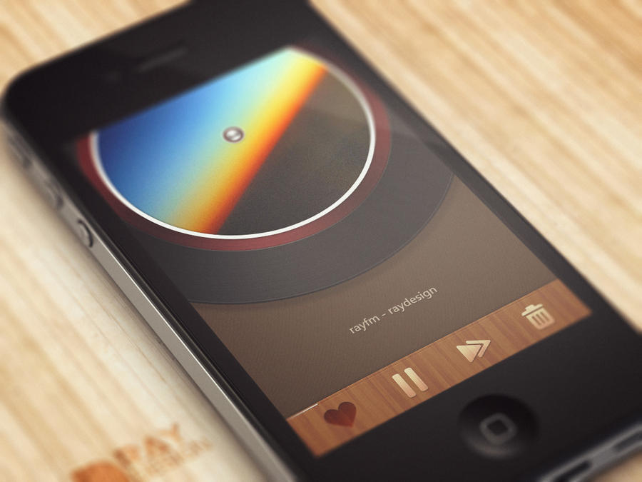 [UI] music FM app design. by raysdesign