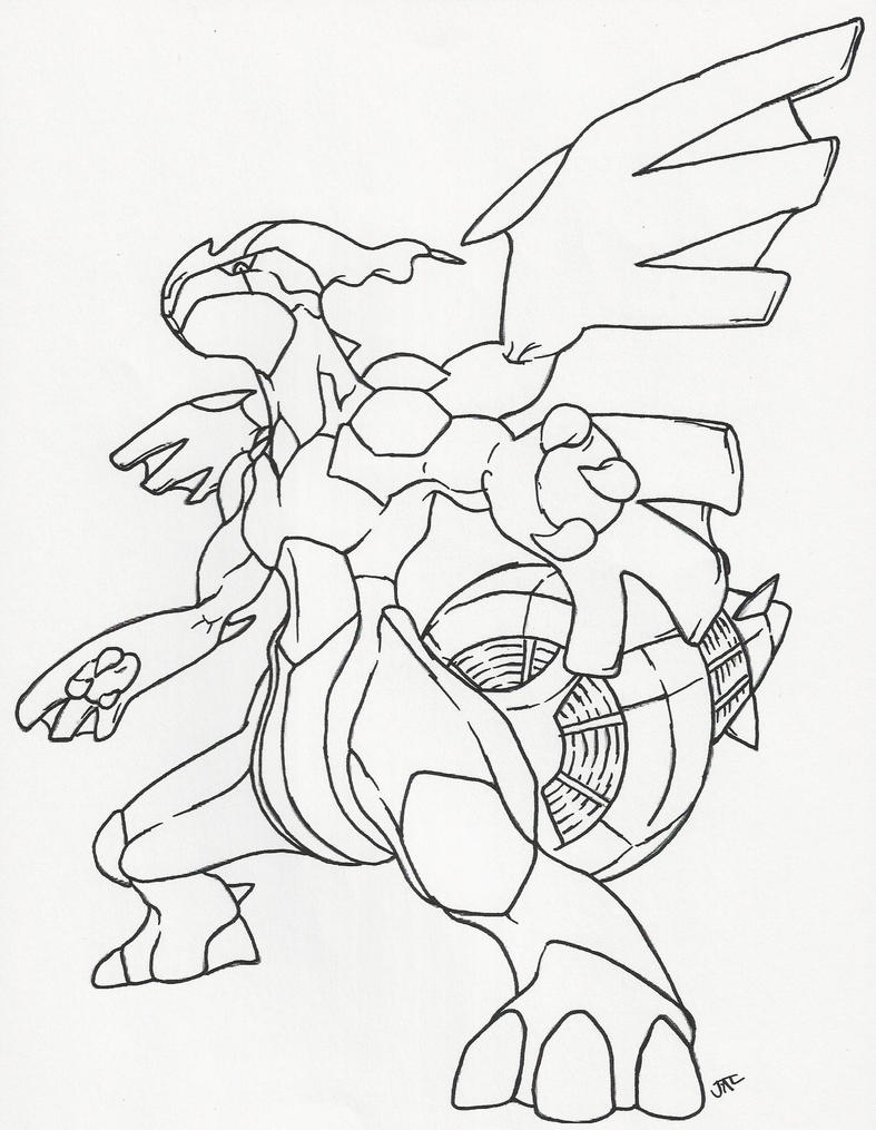 zekrom ex coloring pages - photo#27