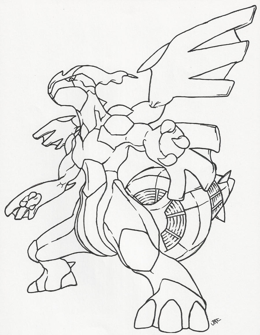 coloring pages pokemon zekrom x - photo#11