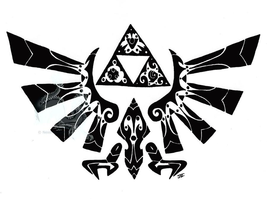 tribal hylian crest by neodragonarts on DeviantArt
