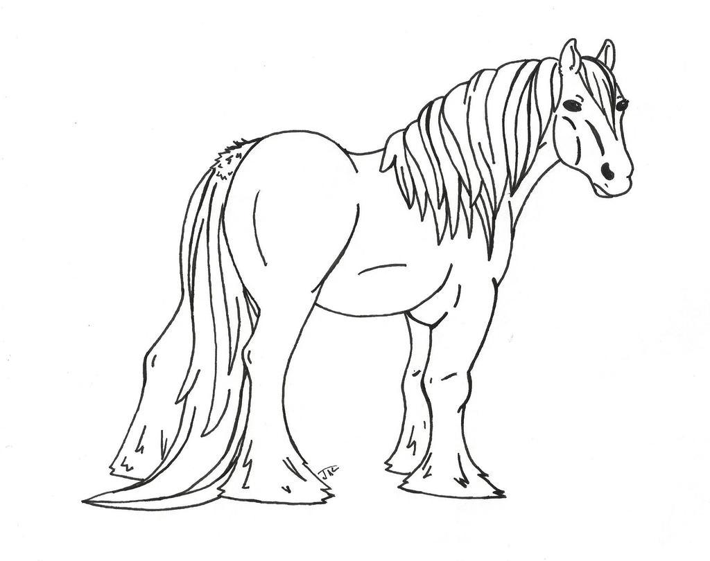 Draft Horse Line Artfree to use