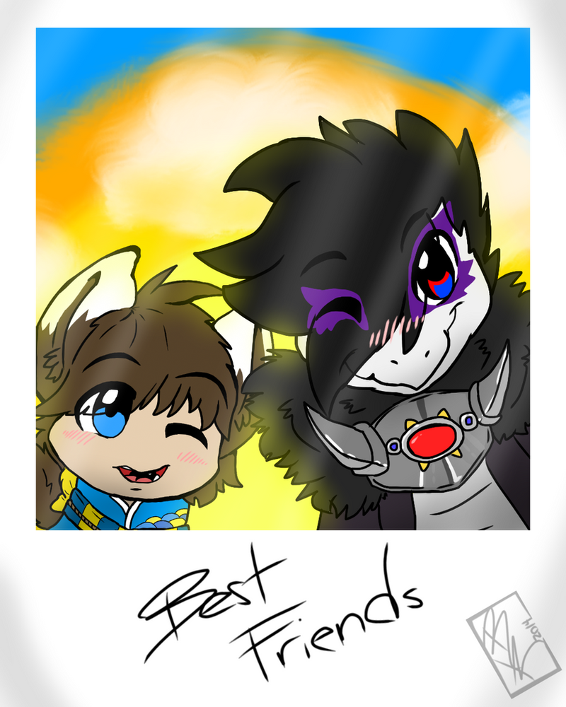 .:Best Friends:. by BKcrazies0