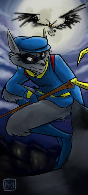 He's One Thievius Raccoonus ...