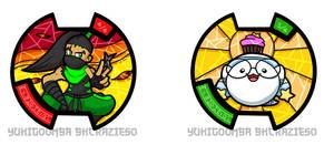 Yokai Watch - Geck and Allochii by BKcrazies0