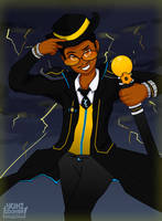 Aeron Tempest - An Electrifying Commentator by BKcrazies0