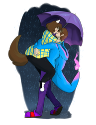 Lovin' In The Rain by BKcrazies0