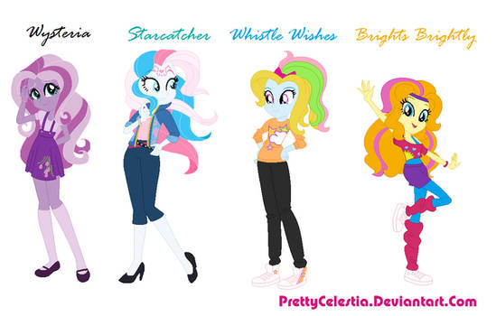 G3 Mlp Characters as Equestria Girls