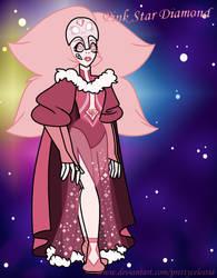 White Diamond and Mossiante Fusion by PrettyCelestia