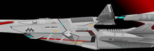 Pharthalain-class Frigate by Afterskies