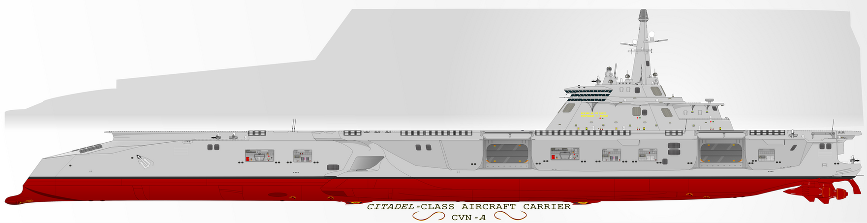 Citadel-class Aircraft Carrier by Afterskies