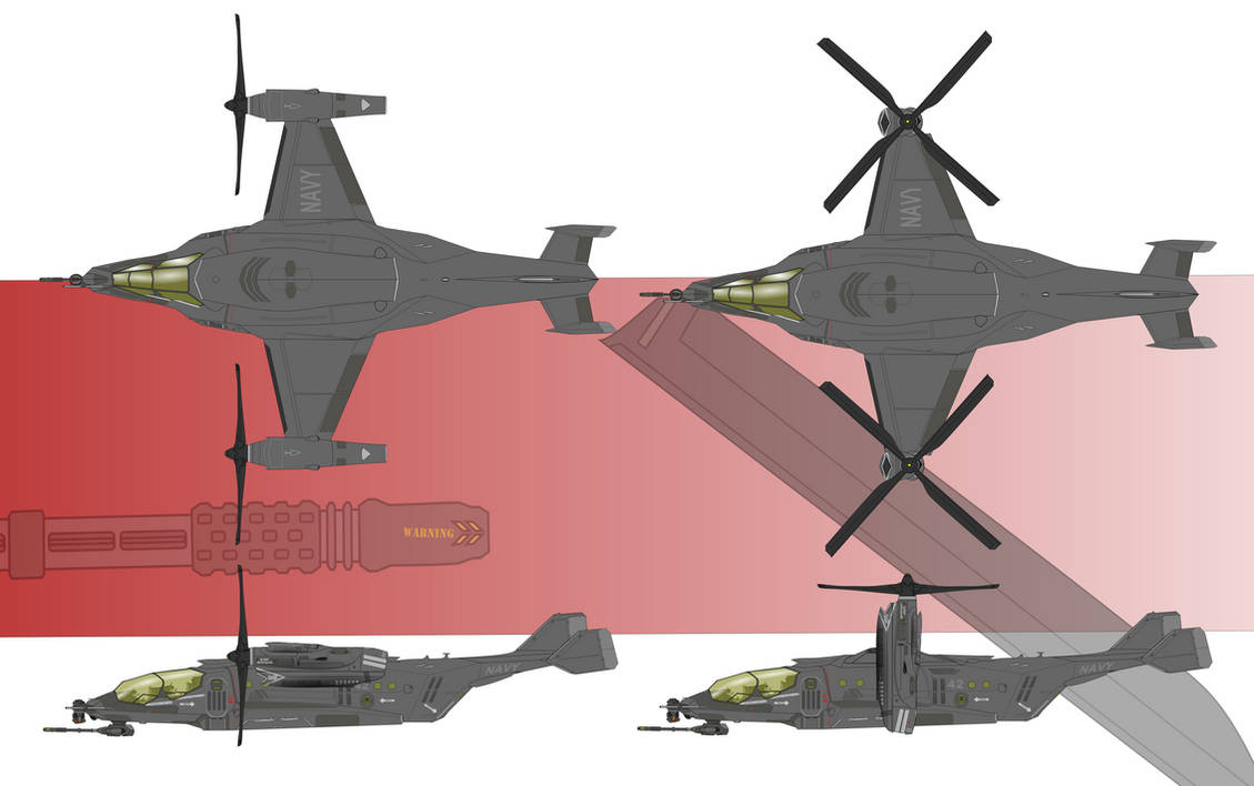 AUV-50 Dragon by Afterskies