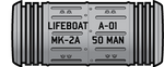 MK-2A Covered Lifeboat (Canister) by Afterskies