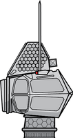 AN/SLQ-12 Multifunction Radar/Electronic Warfare by Afterskies