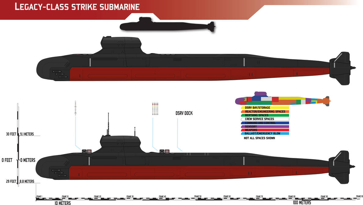 Legacy-class Strike Submarine Redux by Afterskies on DeviantArt