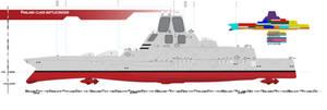 Phalanx-class Battlecruiser by Afterskies