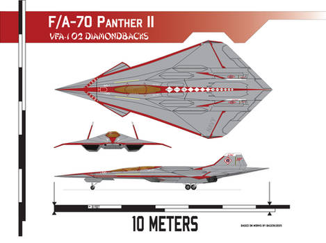 F/A-70 Panther II, VFA-102 Diamondbacks Scheme
