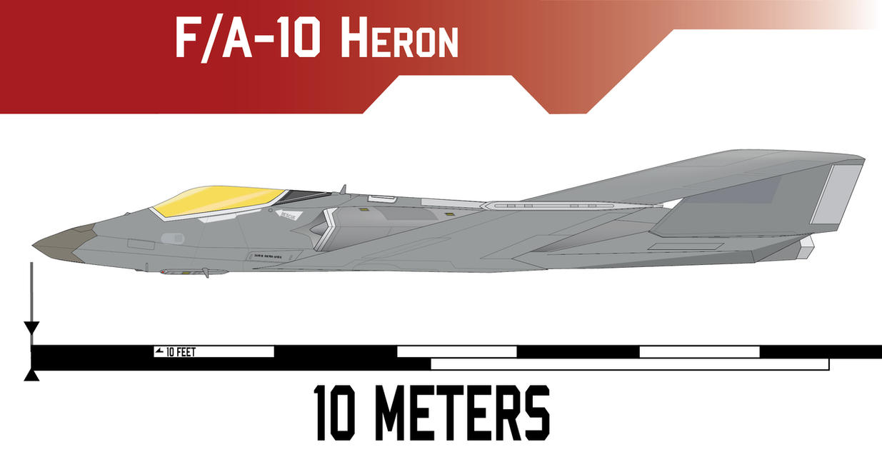 F/A-10 Heron by Afterskies
