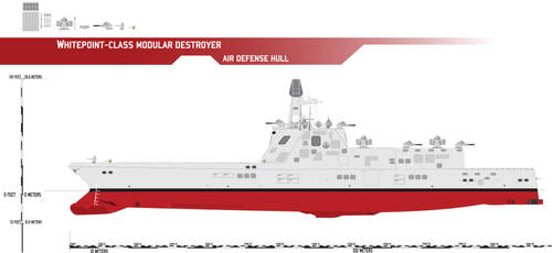 Whitepoint-class Modular Destroyer, AA Hull
