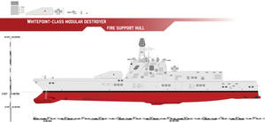 Whitepoint-class Modular Destroyer, Fire Support by Afterskies