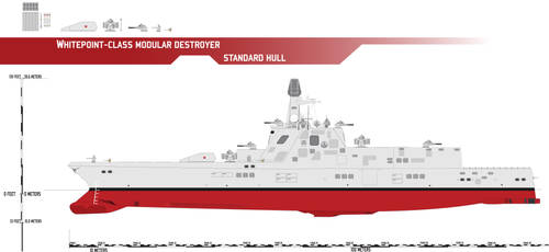 Whitepoint-class Modular Destroyer, Standard Hull by Afterskies
