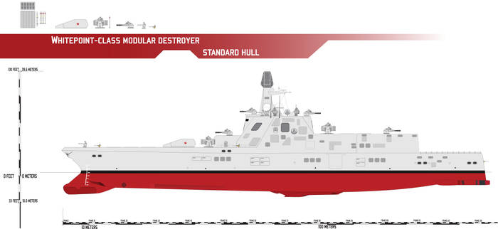 Whitepoint-class Modular Destroyer, Standard Hull