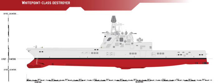 Whitepoint-class Modular Destroyer Baseline Hull