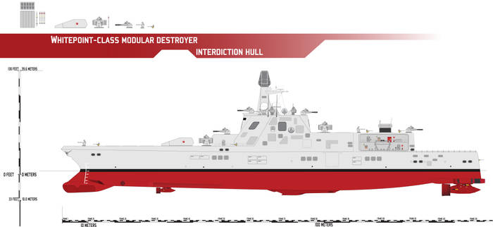 Whitepoint-class Modular Destroyer, Interdiction