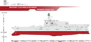 Whitepoint-class Modular Destroyer, Amphib Assault