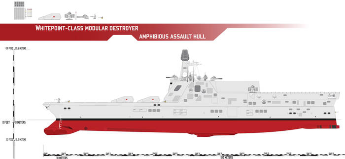 Whitepoint-class Modular Destroyer, Amphib Assault
