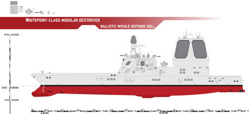 Whitepoint-class Modular Destroyer, BMD by Afterskies