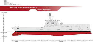 Whitepoint-class Modular Destroyer, Guided Missile