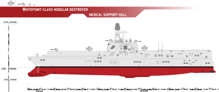 Whitepoint-class Modular Destroyer, Medical