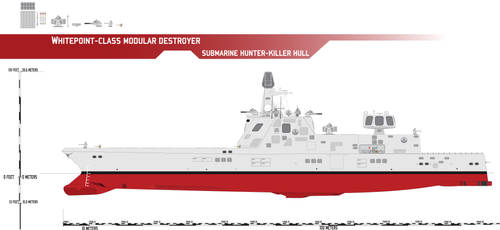 Whitepoint-class Destroyer, Sub Hunter-Killer by Afterskies