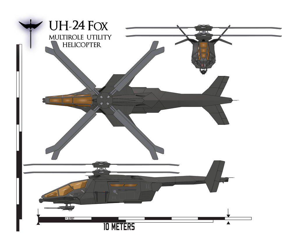 UH-24 Fox by Afterskies