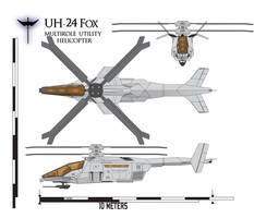 UH-24 Fox Naval Scheme by Afterskies
