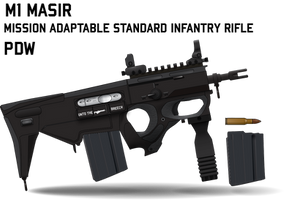M1 MASIR Personal Defense Weapon by Afterskies
