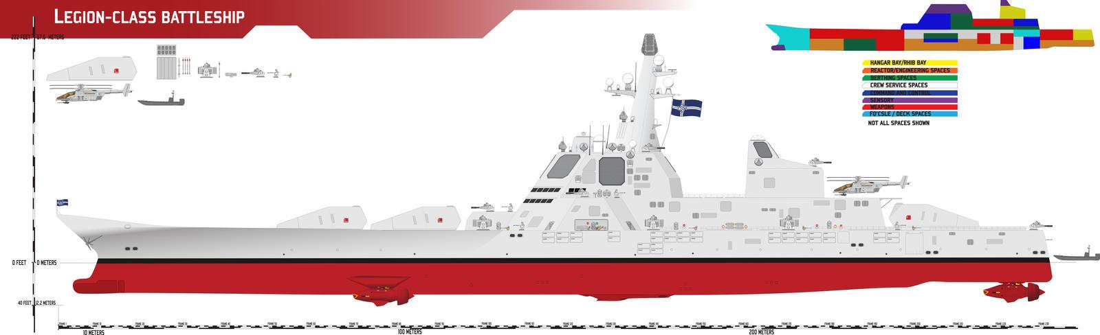 Legion-class Battleship by Afterskies