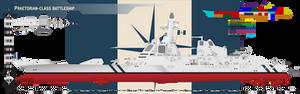 Praetorian-class Battleship [COMMISSION]