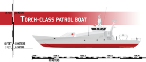 Torch-class Patrol Boat by Afterskies