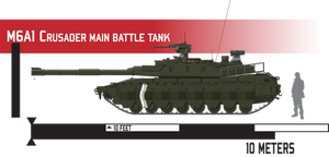 M6A1 Crusader Main Battle Tank - No Attachments by Afterskies