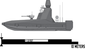 Envoy Unmanned Surface Vehicle by Afterskies