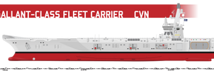 Gallant-class CVN, STOBAR by Afterskies
