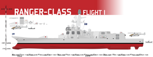 Ranger-class Destroyer, Flight I by Afterskies