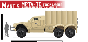 Mantis MPTV-Troop Carrier