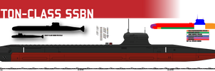 Triton SSBN by Afterskies