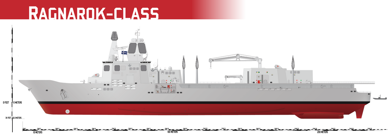 Ragnarok-class Resupply/Tender by Afterskies